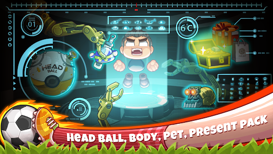 Head Soccer 6.9.1 APK + Mod (Unlimited money) for Android
