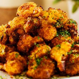 Roasted cauliflower Florets.