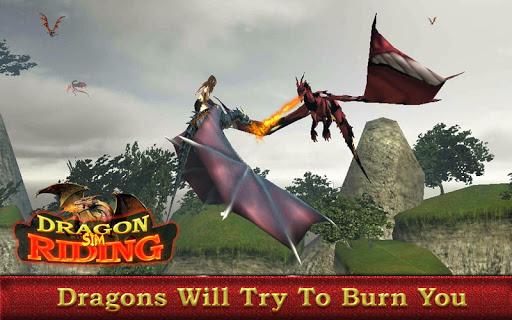 Flying Dragon Simulator – Dragon Rider 1.1 screenshots 13