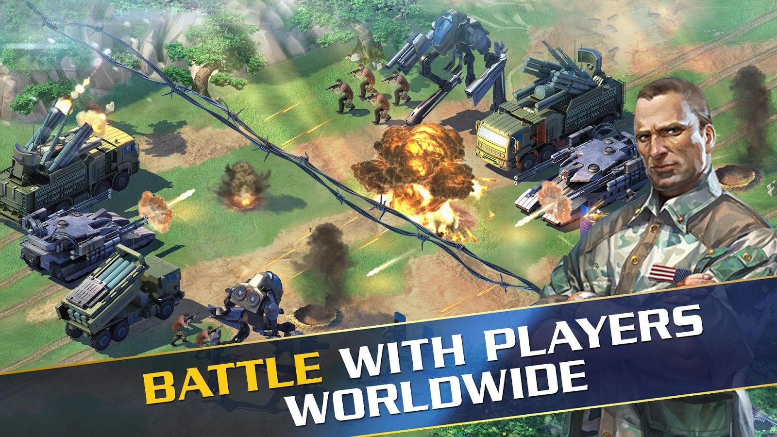 Screenshots of World at Arms for iPhone
