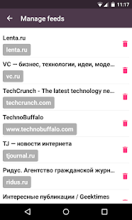 Elky Reader - read full RSS- screenshot thumbnail