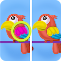 Spot the difference - Find & solve the puzzle icon