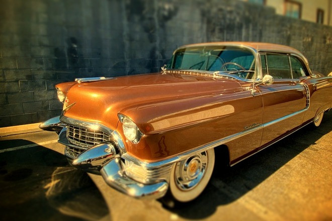 Gorgeous 1955 Cadillac Coupe DeVille Hire Indio