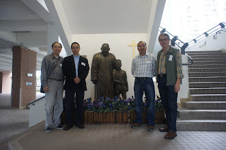 Photo: Timothy '72, Johnny '76, Humphey '71 and Chu Man Chung '73