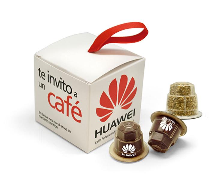 café personalizado cápsulas