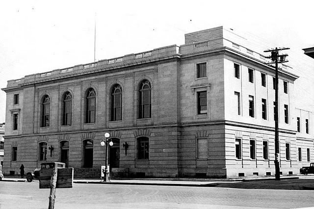 Billings, MT post office, ca. 1932