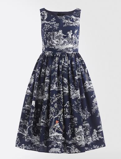 Weekend Max Mara x Richard Saja Blue Printed Dress