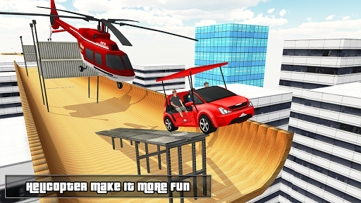 Biggest Mega Ramp With Friends - Car Games 3D apkpoly screenshots 9