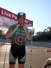 Photo: A blurry Dave Shishkoff prepares for his Flying Lap effort, with zero warm-up. ;)