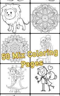 Coloring Book Mix Screenshot