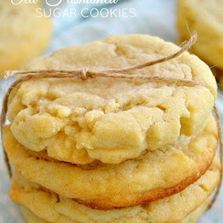 The Best Old-Fashioned Sugar Cookies.