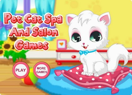 Pet Cat Spa And Salon Games HD 1.1.2 Mod APK Updated Android 1