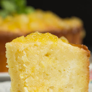 Two Step Pineapple Pound Cake.