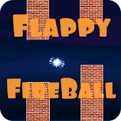 Flappy FireBall:Electric ball