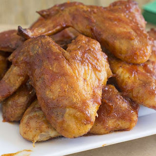 Ultimate BBQ Chicken Wings.