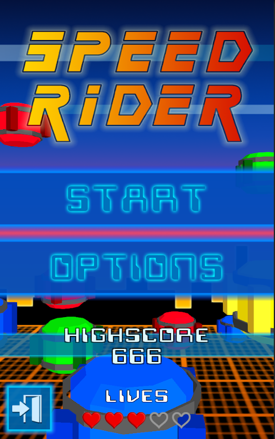 Speed Rider - screenshot