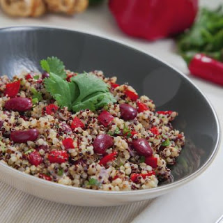 Vegetarian Red Bean and Quinoa Salad