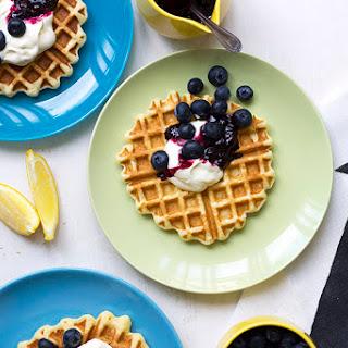 Ricotta Waffles + Whip It Up!.