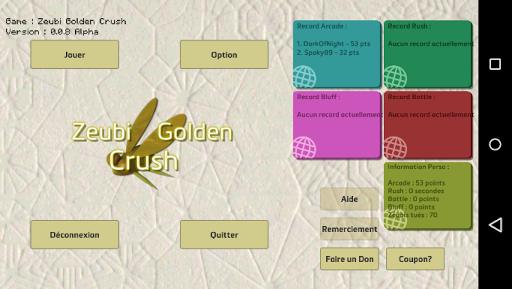 Zeubi Golden Crush
