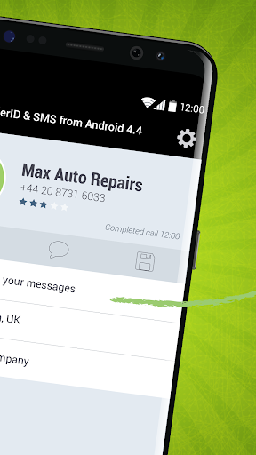 CallerID & SMS from Android 4.4 screenshot 2