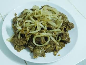 Chicken Liver Bistek
