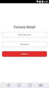 FortuneRetail - náhled