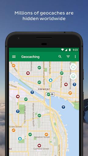 Geocaching screenshot 2