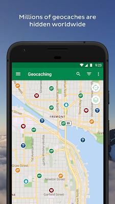 Geocaching® - screenshot