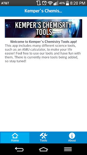 Kemper's Chemistry Tools