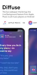 Diffuse – Apple Music Live Wallpaper 📀 For Android 1