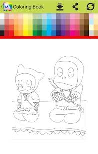 Coloring hattoriI  ninja go - náhled