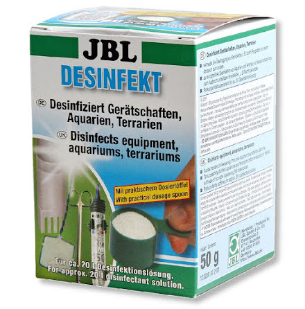 Desinfekt desinficeringsmedel 50g JBL