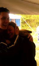 Photo: ...she cried so hard she needed a hug.
