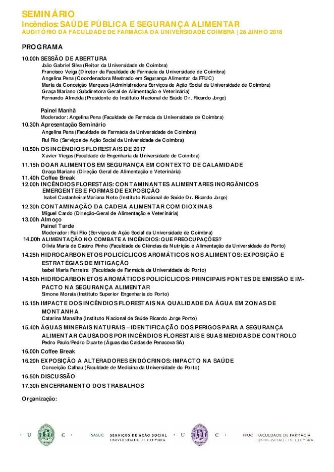 Programa do Seminário