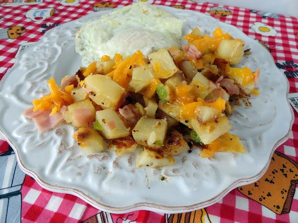 Baked Potato Breakfast Skillet Recipe