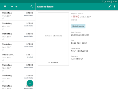 Invoice & Time Tracking - Zoho - Android Apps on Google Play
