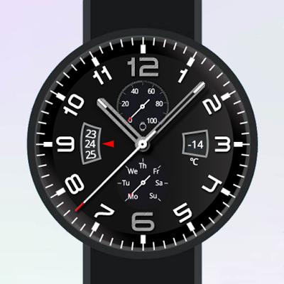 Bang Watch Face - screenshot