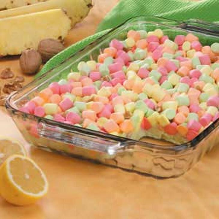 Pastel Gelatin Salad Recipe
