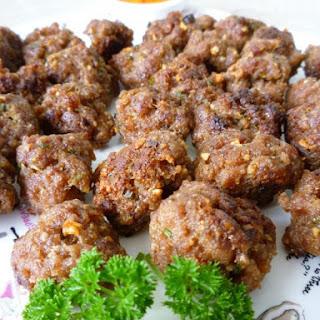 Satay Beef Balls