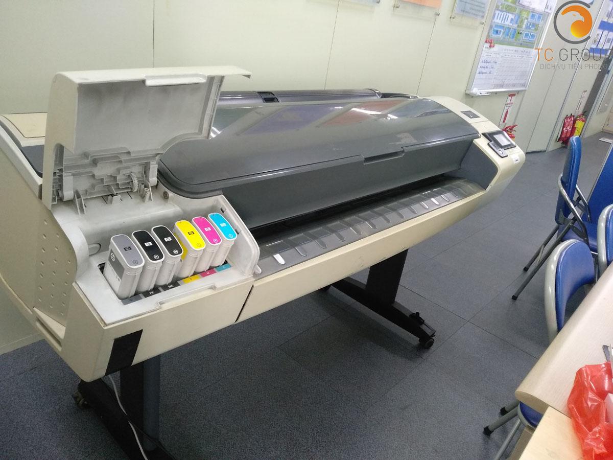 Cho thuê máy scan khổ lớn