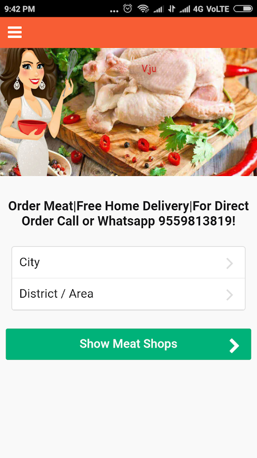 Vju Meat - Fresh Meat Online- screenshot