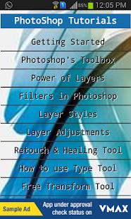 Learn PhotoShop Tutorials - náhled