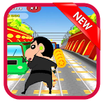 Super subway Shin chan run adventure GO Icon