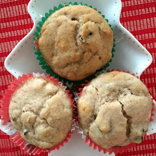 Cinnamon, Cranberry and Walnut Christmas Muffins