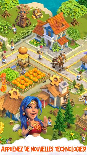 Télécharger Divine Academy: jeu de ferme avec les dieux grecs APK MOD (Astuce) screenshots 3