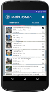 MathCityMap – Miniaturansicht des Screenshots