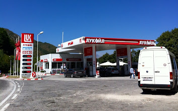 Photo: Gas station!