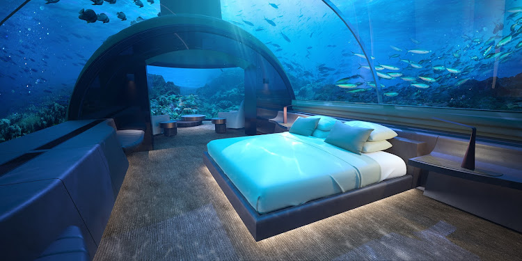 The world's soon-to-be first underwater bedroom