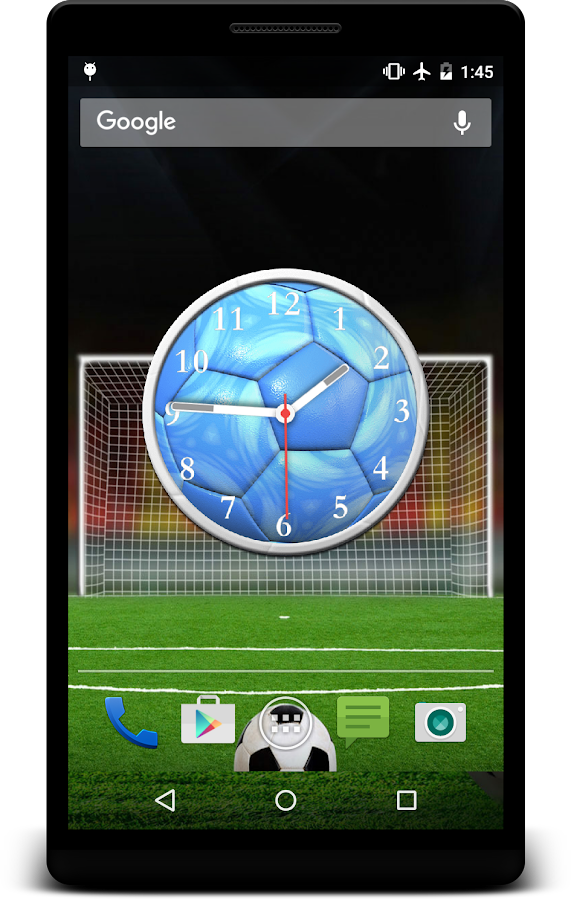 Football Clock Live Wallpaper Android Apps On Google Play