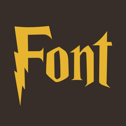 Fonts style Harry Potter